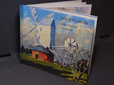 Windmill paintings by Noel Garner
